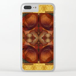 Chimera Gold & Blood Clear iPhone Case