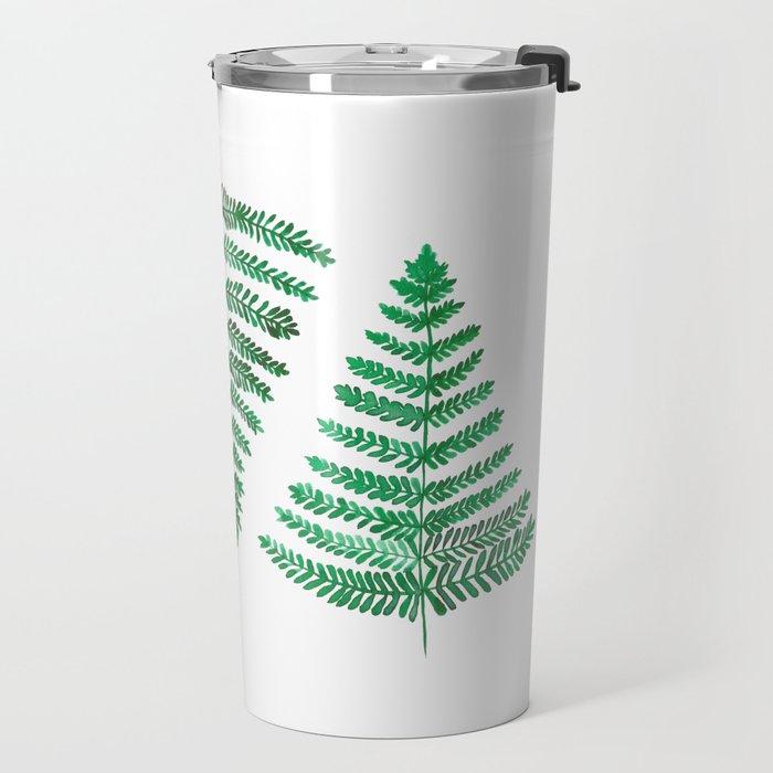 Fiordland Forest Ferns Travel Mug
