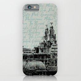 Liverpool Landmarks iPhone Case