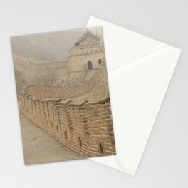 Pathway of the Great Wall of China Stationery Cards