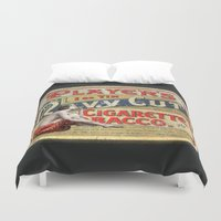 smoking Duvet Covers featuring Smoking by mentalembellisher