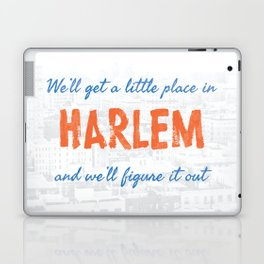 A Little Place in Harlem Laptop & iPad Skin