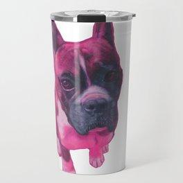 Pink Franklin Travel Mug