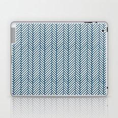 Herringbone Navy Laptop & iPad Skin