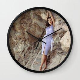Bluebelle Rocks Wall Clock