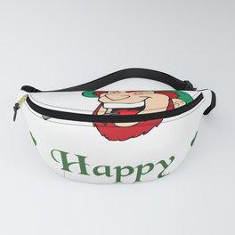 Happy St. Patricks Day Leprechaun Fanny Pack