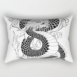 Chinese Dragon Rectangular Pillow