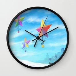 Star Travellers Wall Clock