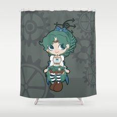 Steampunk Sailor Neptune - Sailor Moon Shower Curtain