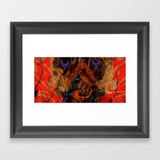Phoenix Flame Framed Art Print