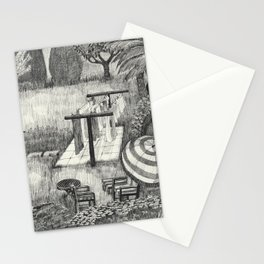 Laundry Time Stationery Cards