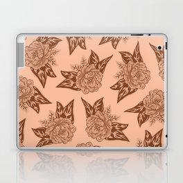 Cabbage Roses in Rust Laptop & iPad Skin