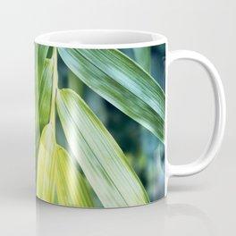Bamboo Leaf Zen Poster Coffee Mug