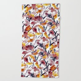 new floral Beach Towel