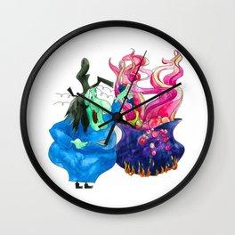 Potions Witch Wall Clock