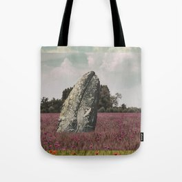 wild whale wood flower Tote Bag