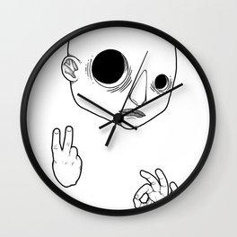 Bodhisattva #02 Wall Clock