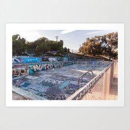 San Pedro Pool Art Print