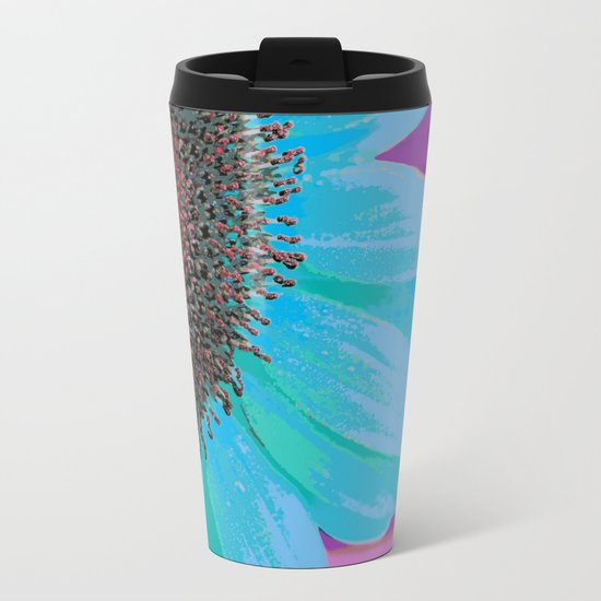 Flor 01 Metal Travel Mug