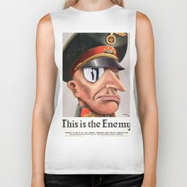 This Is The Enemy Biker Tank