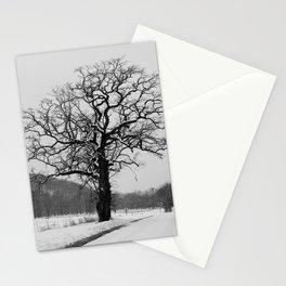 Winter Oak Stationery Cards