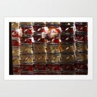 converse Art Prints featuring converse  by RAIKO IVAN雷虎