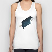 galaxy Tank Tops featuring Space Melter by Zach Terrell