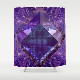 Love Lost City Shower Curtain