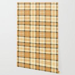 Gold Tartan Wallpaper