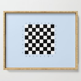 chessboard 3 Serving Tray