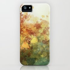 Autumn Whispers iPhone SE Slim Case