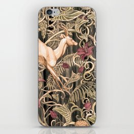 Wild life pattern iPhone Skin