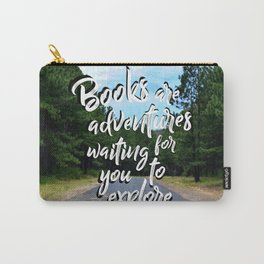 Book Quotes Carry-All Pouch