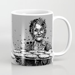 Carol's Got Cookies! From the Walking Dead. Melissa McBride in comic book form. Coffee Mug