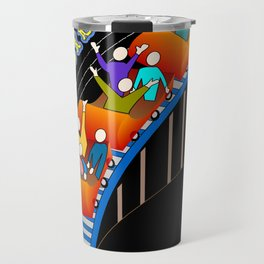Roller Coaster Loco! Travel Mug