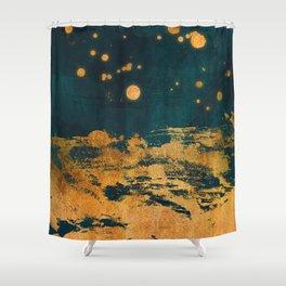A Thousand Fireflies Shower Curtain