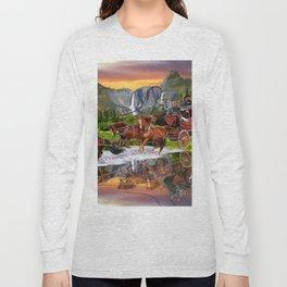Wells Fargo Stagecoach Long Sleeve T-shirt