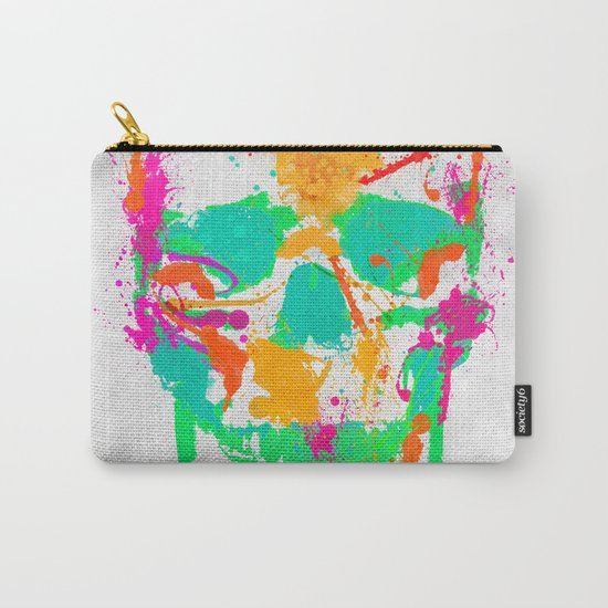 Dead Color Skull Carry-All Pouch