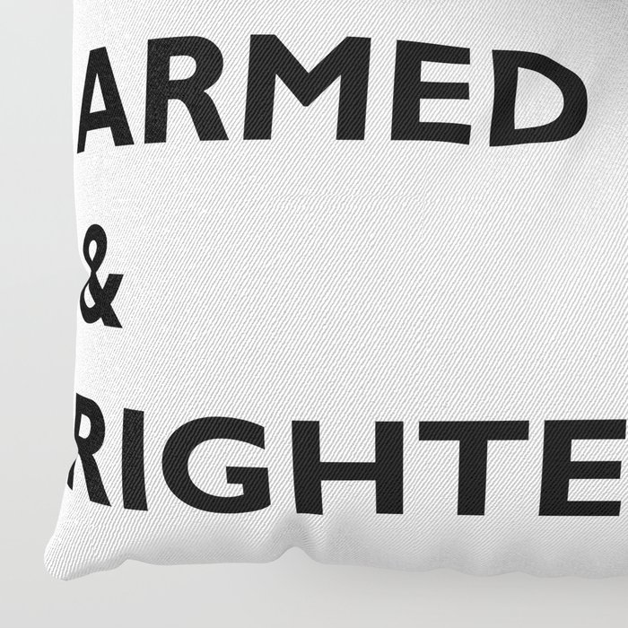 Armed & Righteous Floor Pillow