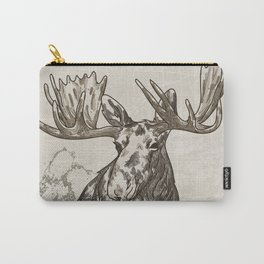 Guardian of the Hinterland (moose) Carry-All Pouch