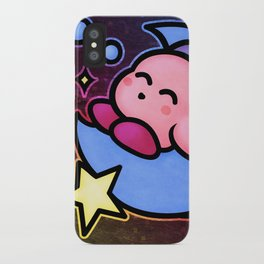 Kirby Sleep iPhone Case
