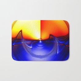 sub sonic waves Bath Mat