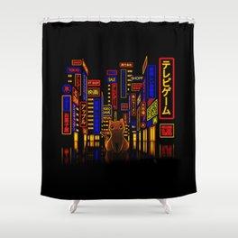 Tokyo Adventure Shower Curtain