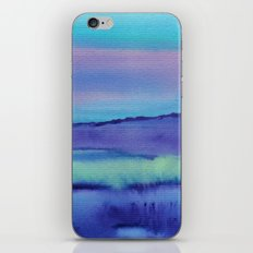 Watercolor abstract landscape 04 iPhone & iPod Skin