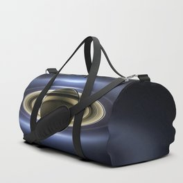 The Planet Saturn passing in front of the Sun Duffle Bag