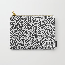 Doodle Pattern Keith Haring Carry-All Pouch