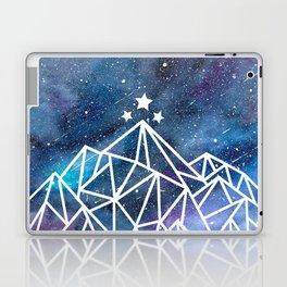 Watercolor galaxy Night Court - ACOTAR inspired Laptop & iPad Skin