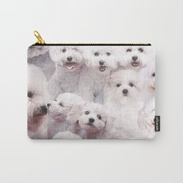 Bichons Carry-All Pouch