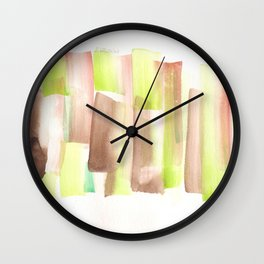 [161228] 11. Abstract Watercolour Color Study Wall Clock