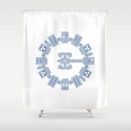 E N D U R A N C E Shower Curtain